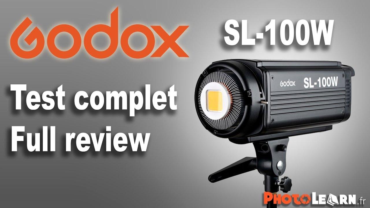 An Un 100w Test De Et Revue Godox D'usage La Sl Complet Lampe Led Avis HW29YEDI