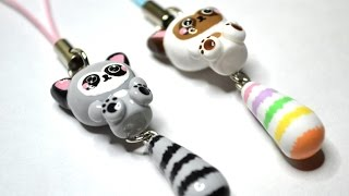 Raccoon with Dangling Tail Polymer Clay Tutorial