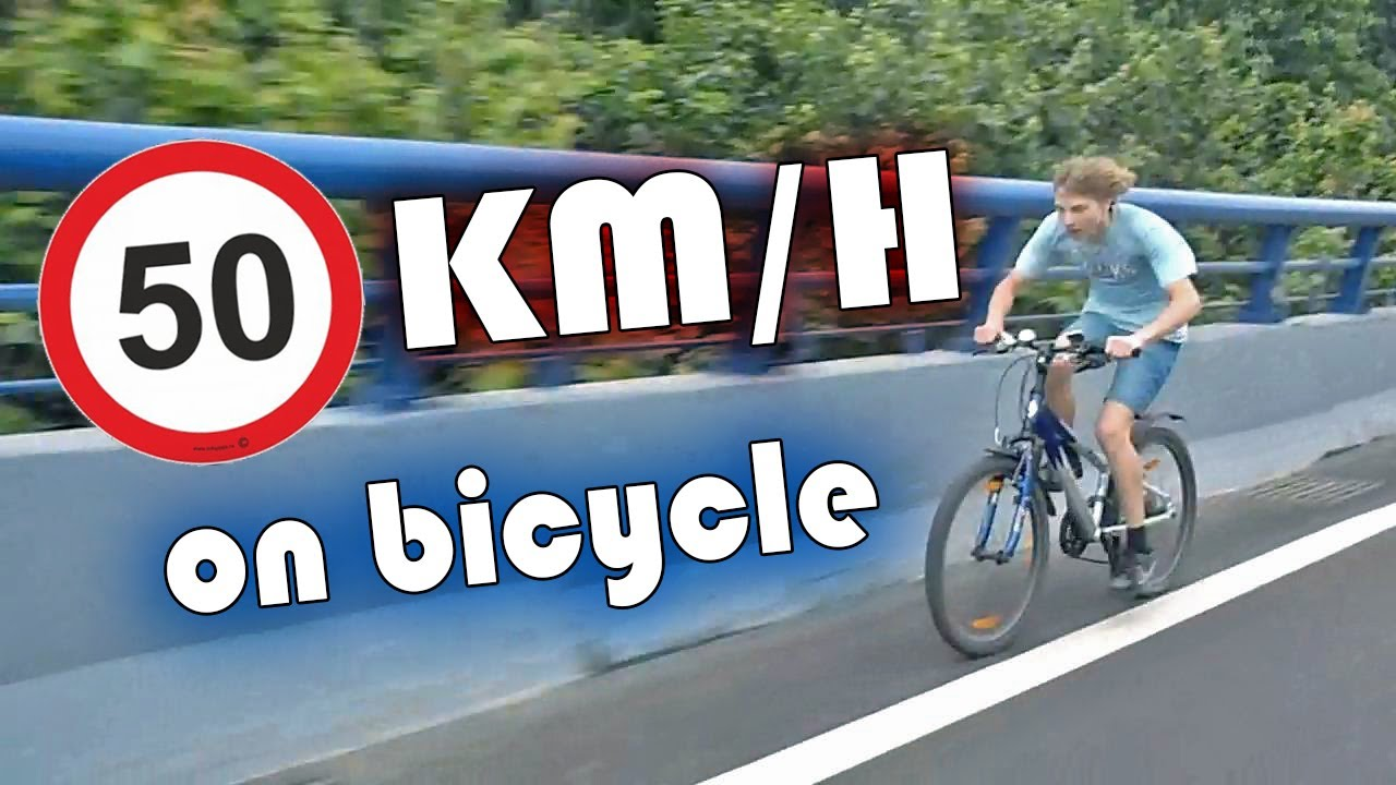 50 km h on bicycle youtube. Black Bedroom Furniture Sets. Home Design Ideas