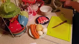 Простые салаты из моркови