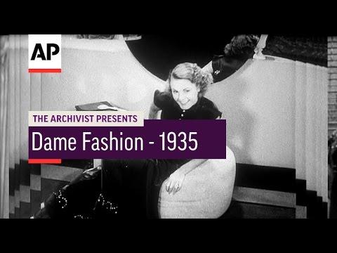 Dame Fashion - 1935 | The Archivist Presents | #71