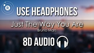 Bruno Mars - Just The Way You Are (8D AUDIO)