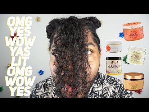 5 PRODUCTS FOR NATURAL HAIR THAT ACTUALLY WORKED...  (vlogmas day 6)