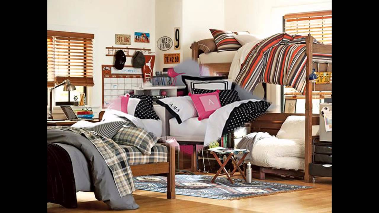 Awesome Dorm room decorating ideas for girls YouTube