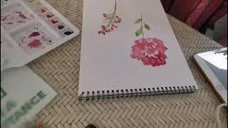 Botanical Watercolor Painting