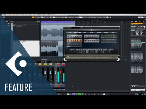 VST Bass Amp   Effects and Plug-ins Included in Cubase