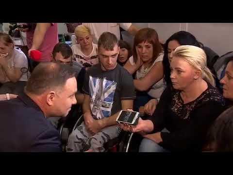 To jest piękne  Adrian Zaorany przez matki niepełnosprawnych.:)