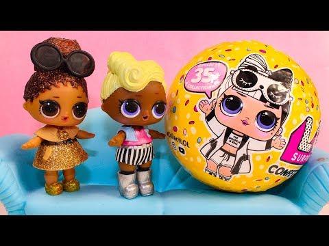 Куклы ЛОЛ Новая КУКОЛКА ЛОЛ Сюрприз Конфетти ПОП Мультик про игрушки Видео для детей