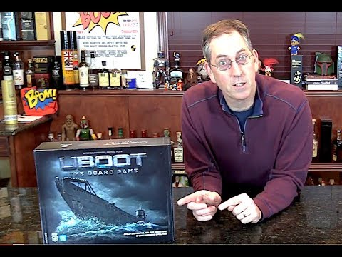 PRE-VIEW 'UBOOT: The Board Game' Cooperative with The Chief Bonding With Board Games