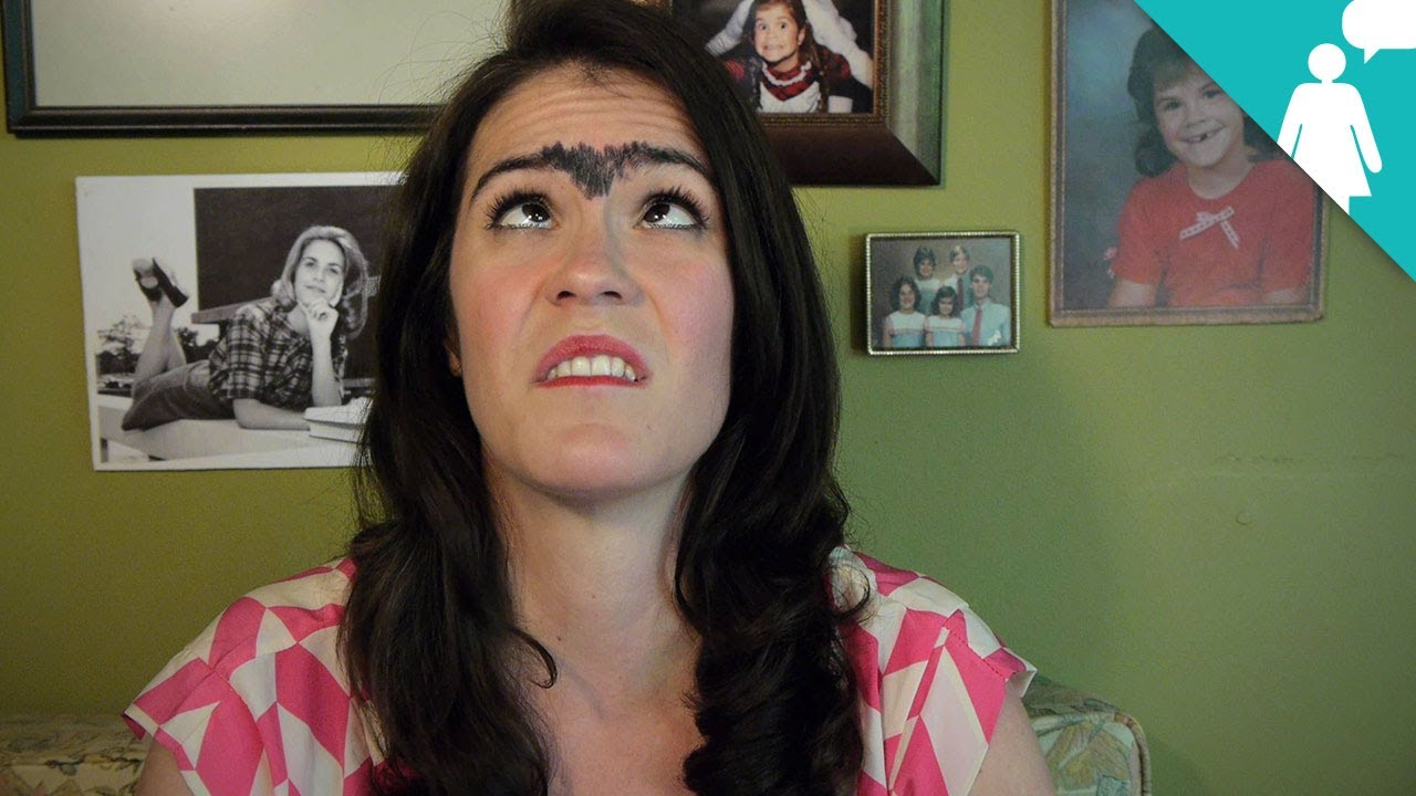 how to make a unibrow