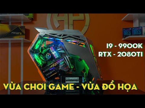 PC Gaming 82 Triệu I9 9900k RTX 2080Ti . Hiệu Năng Game & Làm Đồ Họa Tuyệt Vời! Tin Học Anh Phát