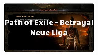 Path of Exile: Betrayal (neue Liga)