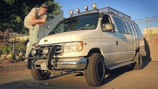 Дикий кэмпинг вэн с V10 6.8л за смешные деньги. Как жить в фургоне в лесу в США?