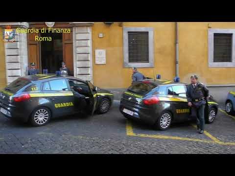 Guardia di Finanza di Roma, 5 ordinanze di custodia cautelare in carcere
