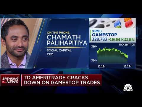 Chamath being an absolute Chad to the CNBC reporter for 2 minutes and 26 seconds