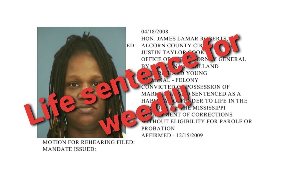 Tameca C Drummer's life sentence for weed!