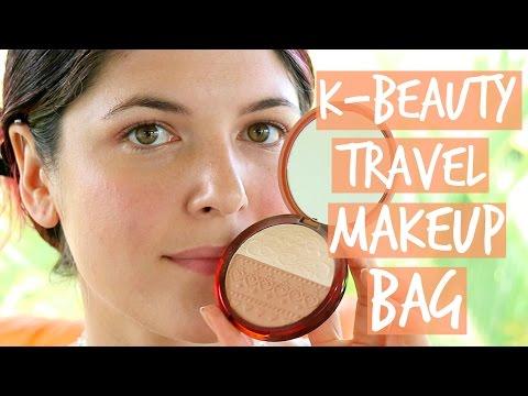My K-Beauty Travel Makeup Bag 2015: Innisfree, Etude House, Hera, Laneige...