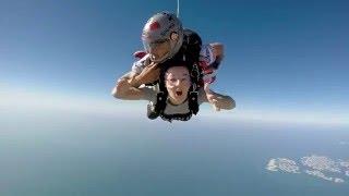 Rosie skydive Dubai 2016