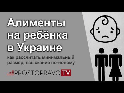 Алименты на ребёнка 2019 в Украине: как рассчитать минимальный размер, взыскание по-новому