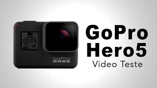 GoPro Hero 5 - Video e Audio Teste