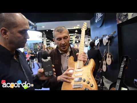 NAMM 2014 - Eko Guitars, Made in Italy series