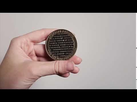 Vietnam War 50th Challenge Coin