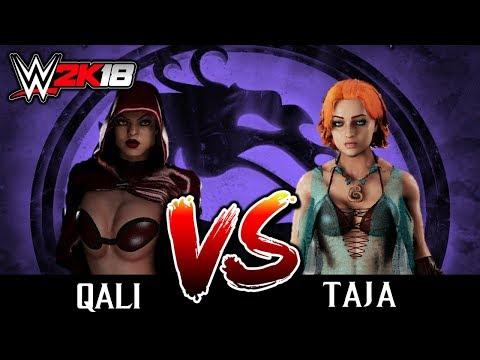#03 WWE2K18: TAJA VS QALI [TORNEIO DO MORTAL KOMBAT NO WW2K18] thumbnail