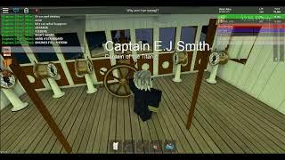 Titanic Sinken in weniger als 100 Sekunden | VVG ROBLOX