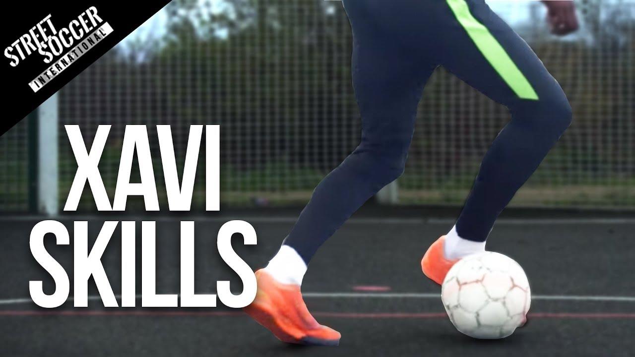 XAVI SKILL | Lerne Fußball, Fußballfähigkeiten + video