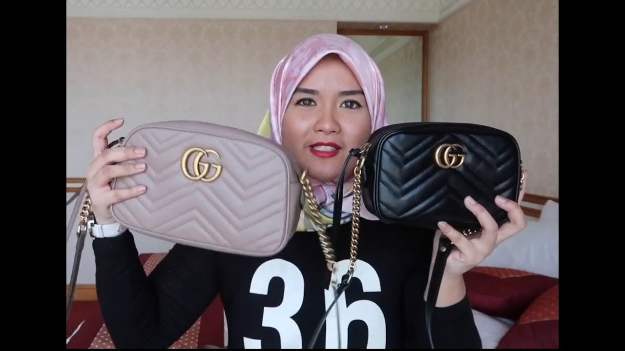 Gucci Marmont Super Mini Mini And Small Size Youtube