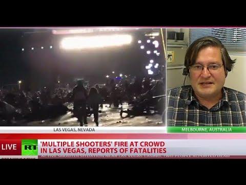 Multiple gunshots at music fest near Mandalay Bay Casino in Las Vegas