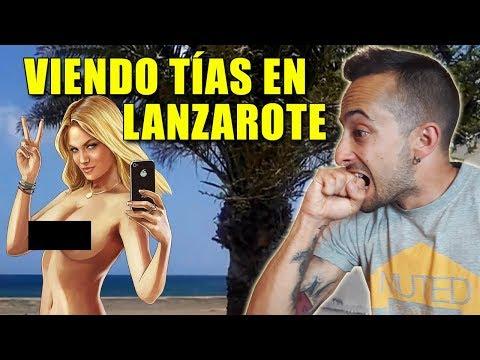 Viendo Tías en Lanzarote.