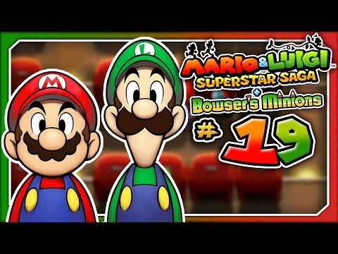 Mario & Luigi: Superstar Saga + Bowser's Minions - Part 19: The Yoshi Theater! (3DS)
