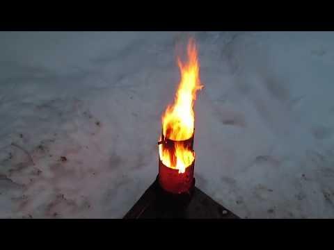 waste oil burner upgrade2- aluminium melting