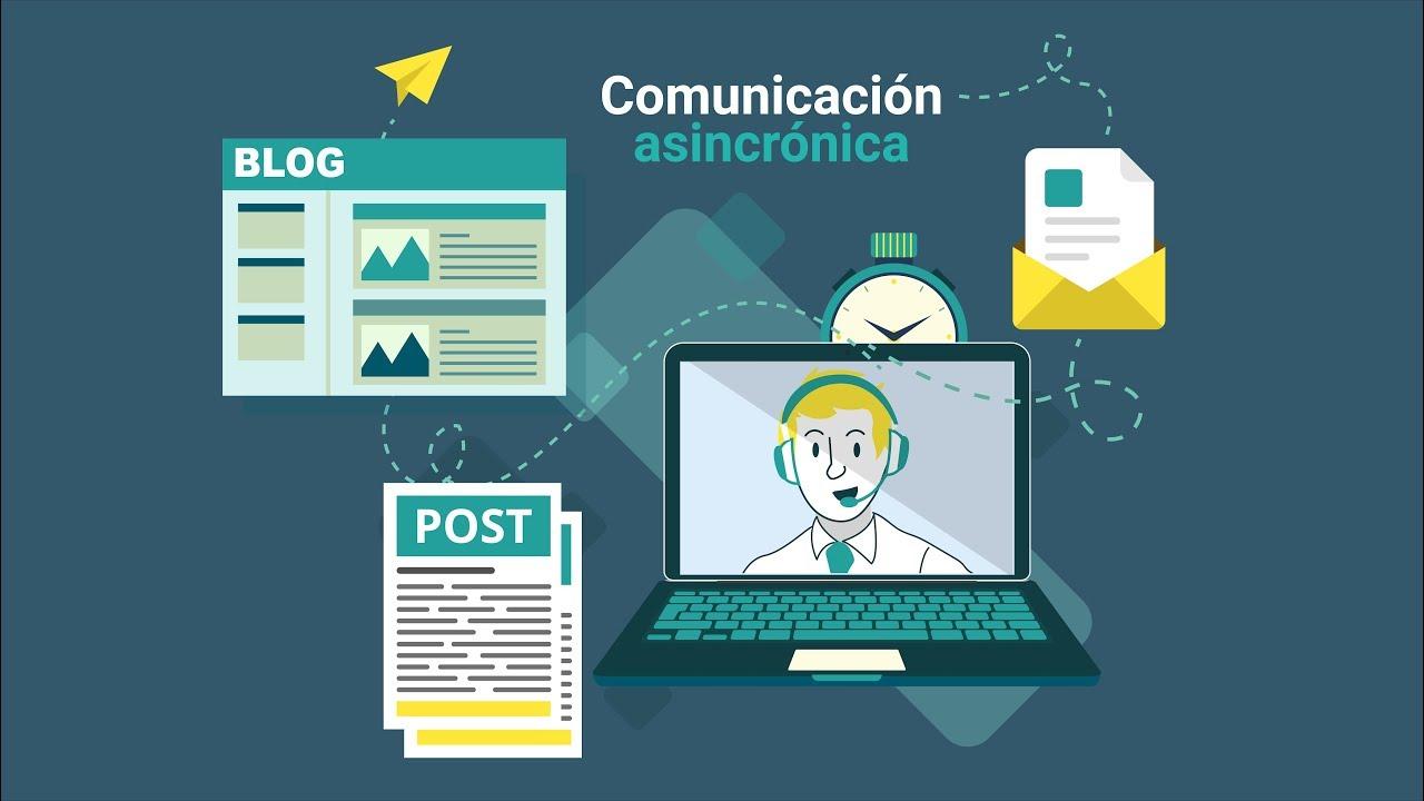 Comunicación asincrónica - YouTube