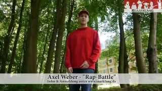 Saarklang- Rap Battle mit Axel Weber