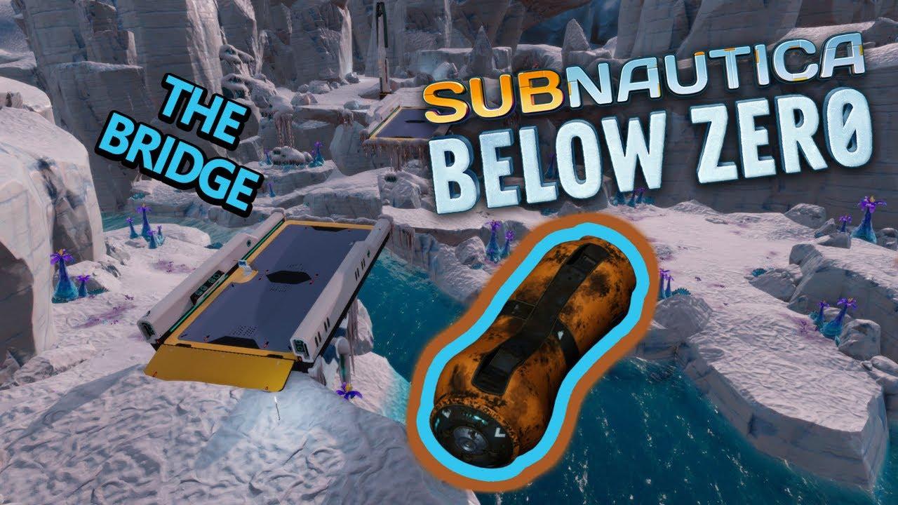 Download Subnautica Below Zero   We find a bridge and hydraulic fluid