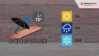 SWISS KRONO AQUASTOP - Water resistant laminate flooring