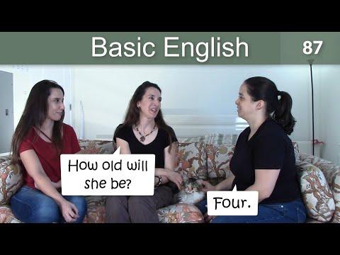 Lesson 87 ????? Basic English with Jennifer ??Future: WILL & WON'T
