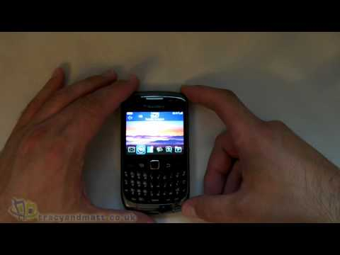 BlackBerry Curve 3G 9300 unboxing video