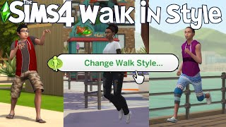 The Sims 4: I CREATED MY FIRST MOD! (Walk In Style Mod Showcase)