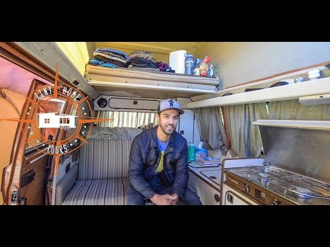 Living Full Time In An Off The Grid 1982 VW Van ~ Full Tour ~ Alaskan Tour Guide