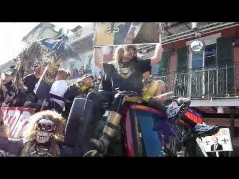 Saints - Bobby Hebert - Super Bowl Parade 1-31-10