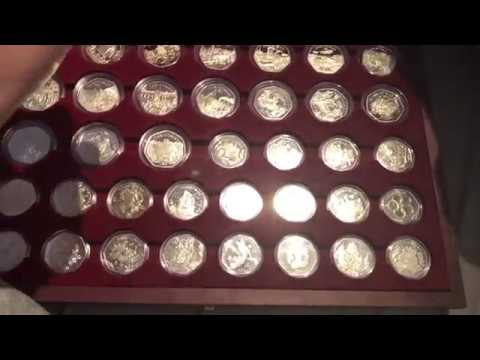 UP TO DATE IOM CHRISTMAS 50P COLLECTION - £3000+ SET - UkCoinHunt