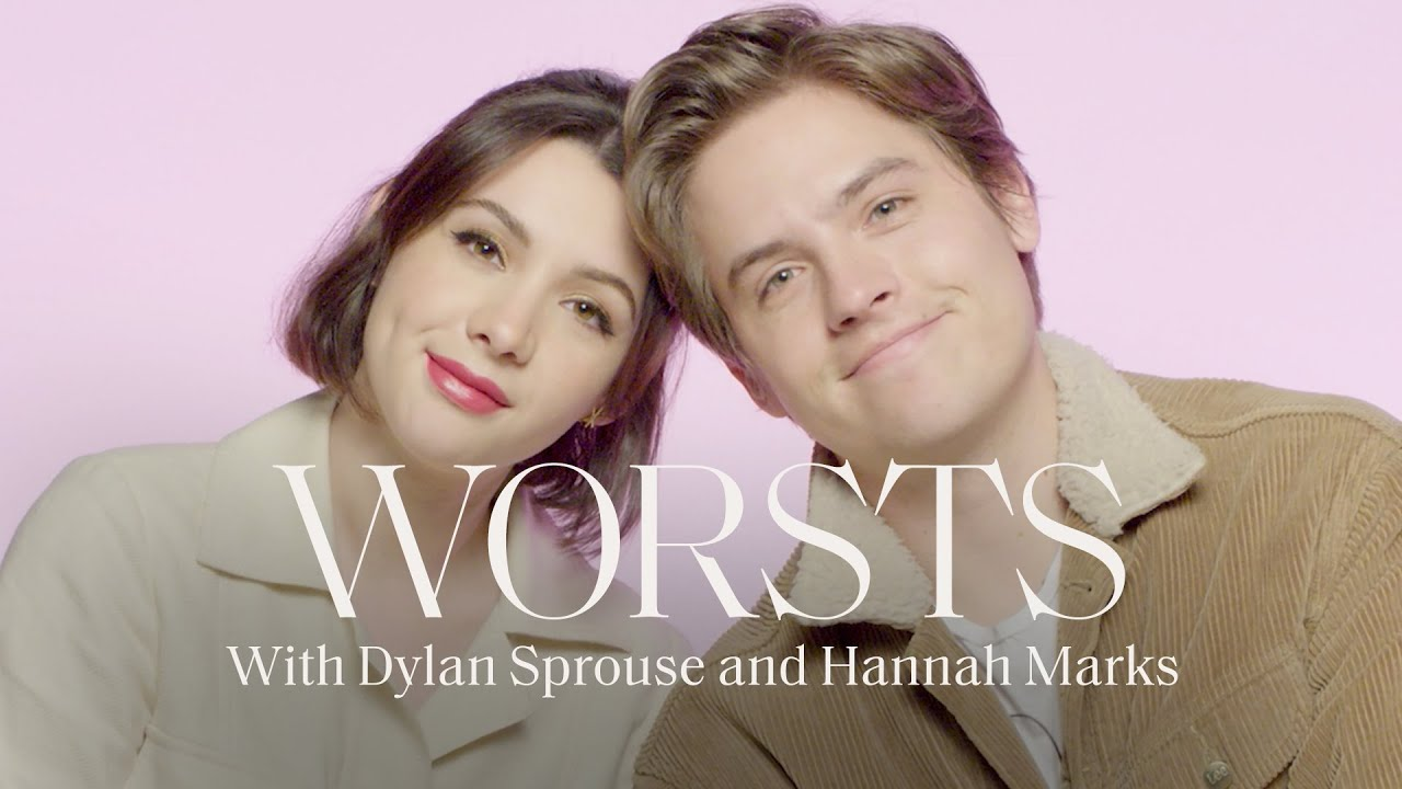 Dylan Sprouse and Hannah Marks Reveal their Worst Kiss, Date, and Hollywood Audition | Worsts