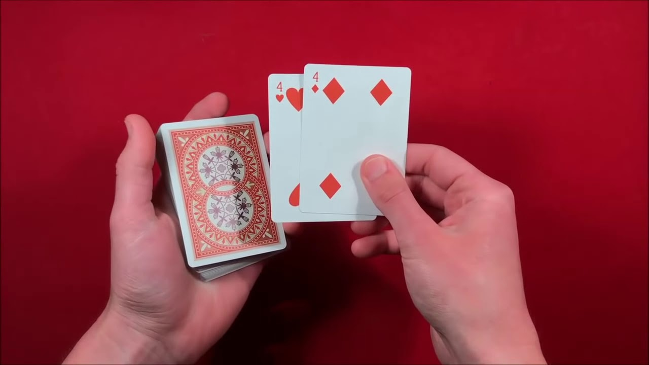 card trick for beginners  youtube