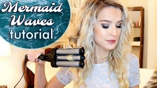 Easy Mermaid Waves Hair Tutorial | leighannsays
