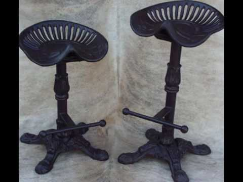 adjustable tractor seat bar stools