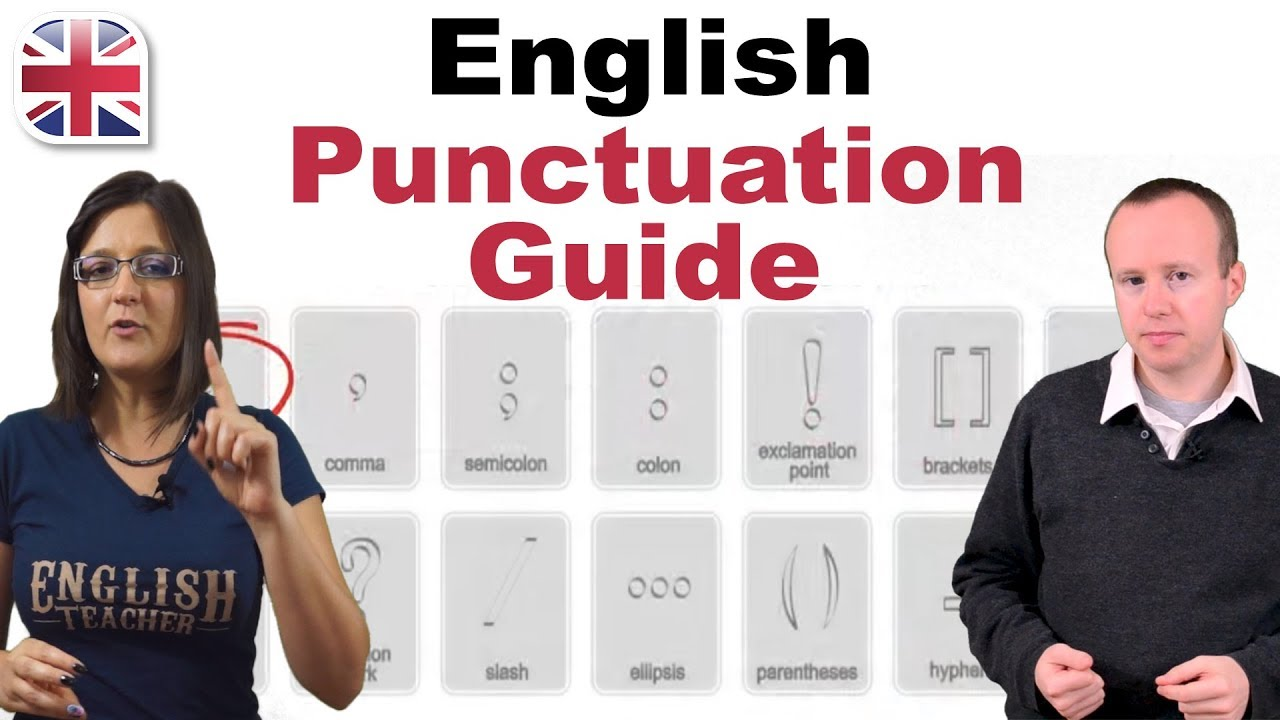 Download English Punctuation Guide - English Writing Lesson