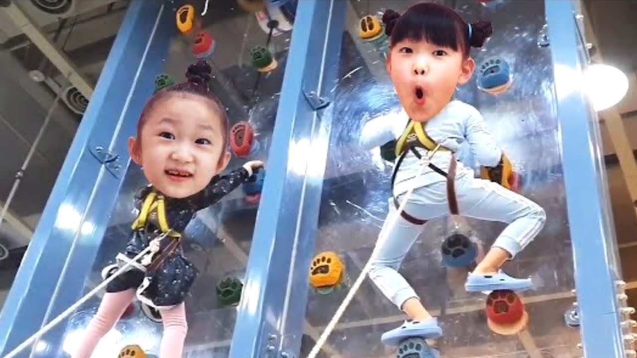 Fantastic family have fun at the indoor playground